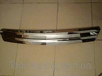 Решетка радиатора Приора  хром 2 широких полосы