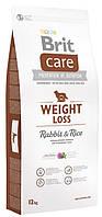 Корм для собак с избыточным весом Brit Care Adult Weight Loss Rabbit 3 кг