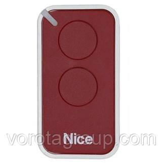 Пульт Nice 2-х канальный (red) (INTI2R)
