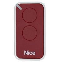 Пульт Nice 2-х канальный  (red)  INTI2R