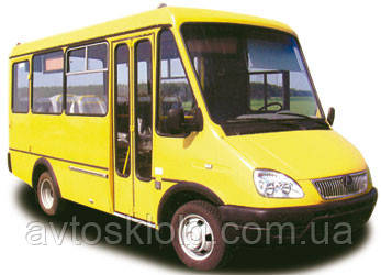 Стекло лобовое, заднее и боковые для БАЗ 2215 (Дельфин) (Автобус) (2003-)