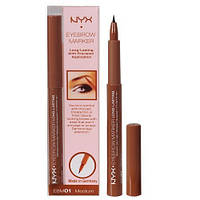 Стойкий маркер для бровей NYX Eyebrow Marker оттенок Medium