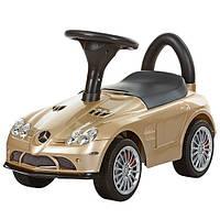 Каталка-толокар M 3189S-13 Mercedes на EVA колесах, автопокраска,золотой