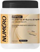 Маска для волос питательная с маслом карите 1000 мл, Brelil Numero Nourishing Mask With Shea Butter