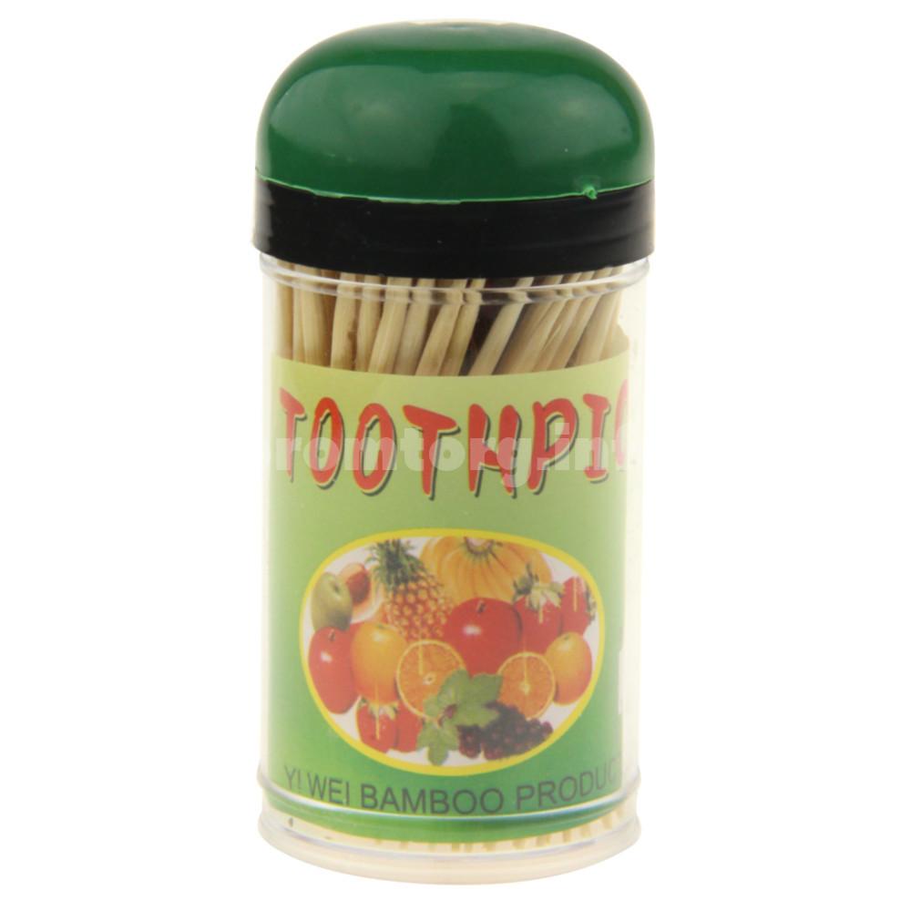 Зубочистки бамбуковые в упаковке 120 шт