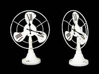 Часы настольные металлические Вентилятор
