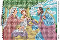 Схема для вышивки бисером Святое Семейство БСР-3083