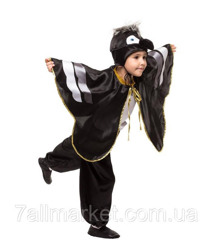 """Карнавальный костюм Ворона на мальчика 4-9 лет (Украина) """"KARNAVAL"""" оптом в Одессе на 7 км"""