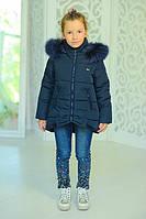 Куртка «Бант», джинс Рост:122-152см, фото 1