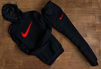 Утепленный спортивный костюм Nike  (кенгуру)