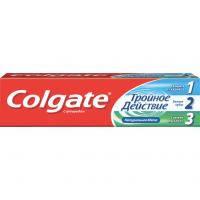 Зубна паста Colgate против кариеса Тройное действие 50 мл (7891024128954)