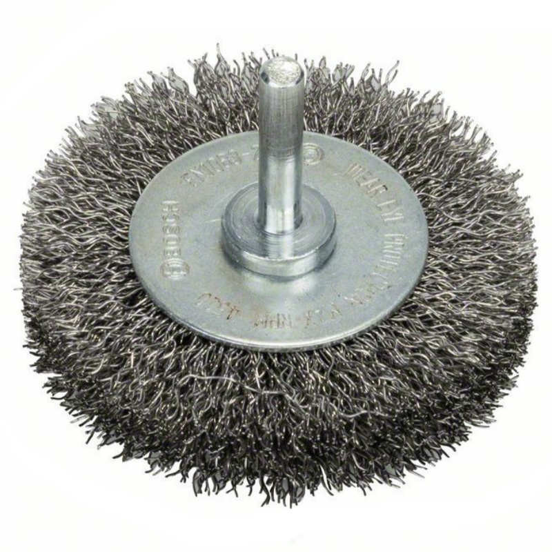 Щетка дисковая Bosch 6 мм 0.2X30 мм витая сталь