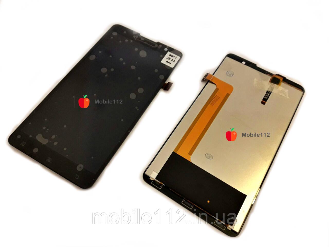 Модуль (дисплей + тачскрин) для Lenovo S8 S898T/ S898T+, чёрный (Original LCD)