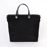 Женская стильная сумка из натуральной замши М61-27/замш