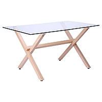 Стеклянный обеденный стол Vesca (Веска), TM AMF