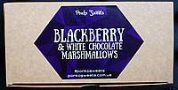 "Маршмеллоу ""Ежевика и белый шоколад"""