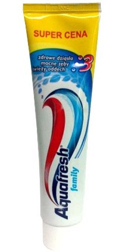 Зубная паста Aquafresh family 100 ml (Англия)