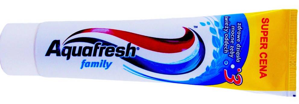 Зубная паста Aquafresh family 100 ml (Англия), фото 2