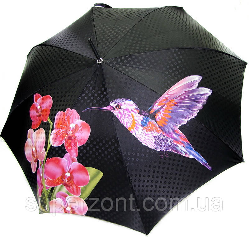 Оригинальный женский зонт-трость, полуавтомат Doppler 12019 - 2 Ручная сборка