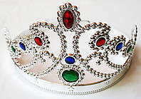 """Корона """"Диадема"""" серебряная регулируемая"""