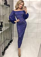 Модное женское платье с гипюром   Venecija  ! , фото 1