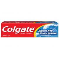Зубна паста Colgate освежающая Крепкие зубы Свежее дыхание 50 мл (7891528039749)