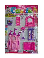 Детский кукольный домик набор мебели
