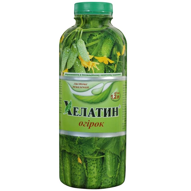 Удобрение Хелатин Огурец 1,2 л