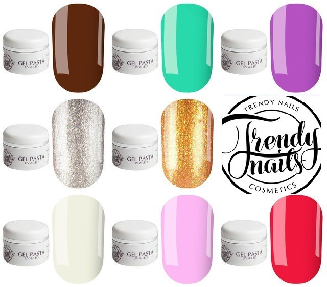 Гель-паста trendy nails