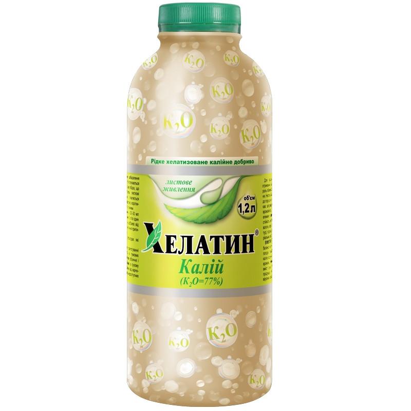 Удобрение Хелатин Калий 1,2 л