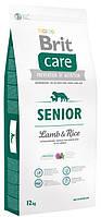 Корм для пожилых собак Brit Care Senior Lamb & Rice