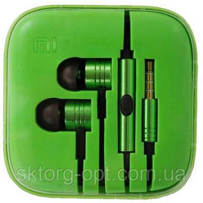 Наушники Xiaomi Piston 2 Green реплика  продажа 0b3ab6e1436ad
