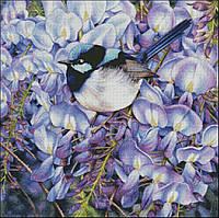 "Набор для вышивания ""Wisteria and Blue Wren"", фото 1"
