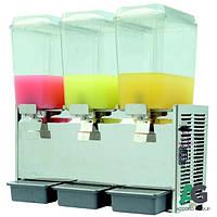 Охладитель для напитков 3х18 л EWT Inox CDD18-3