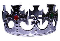 Корона  серебряная регулируемая
