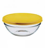 Набор салатниц с крышкой Pasabahce Chefs 20 см 2 предмета (53573)
