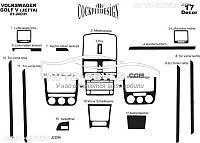 Тюнинг панели проборов (торпедо) VolksWagen Golf 5 из 15 элем