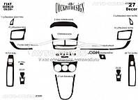 Тюнинг панели проборов (торпедо) для Opel Combo 2012-... из 27 элем