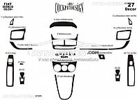 Декор на торпеду для Fiat Doblo IV 2014-... из 27 элем