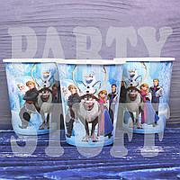 Бумажные стаканчики детские Холодное сердце, 10 шт