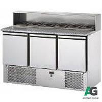 Стол холодильный для пиццы 3-х дверный Apach SL03AI