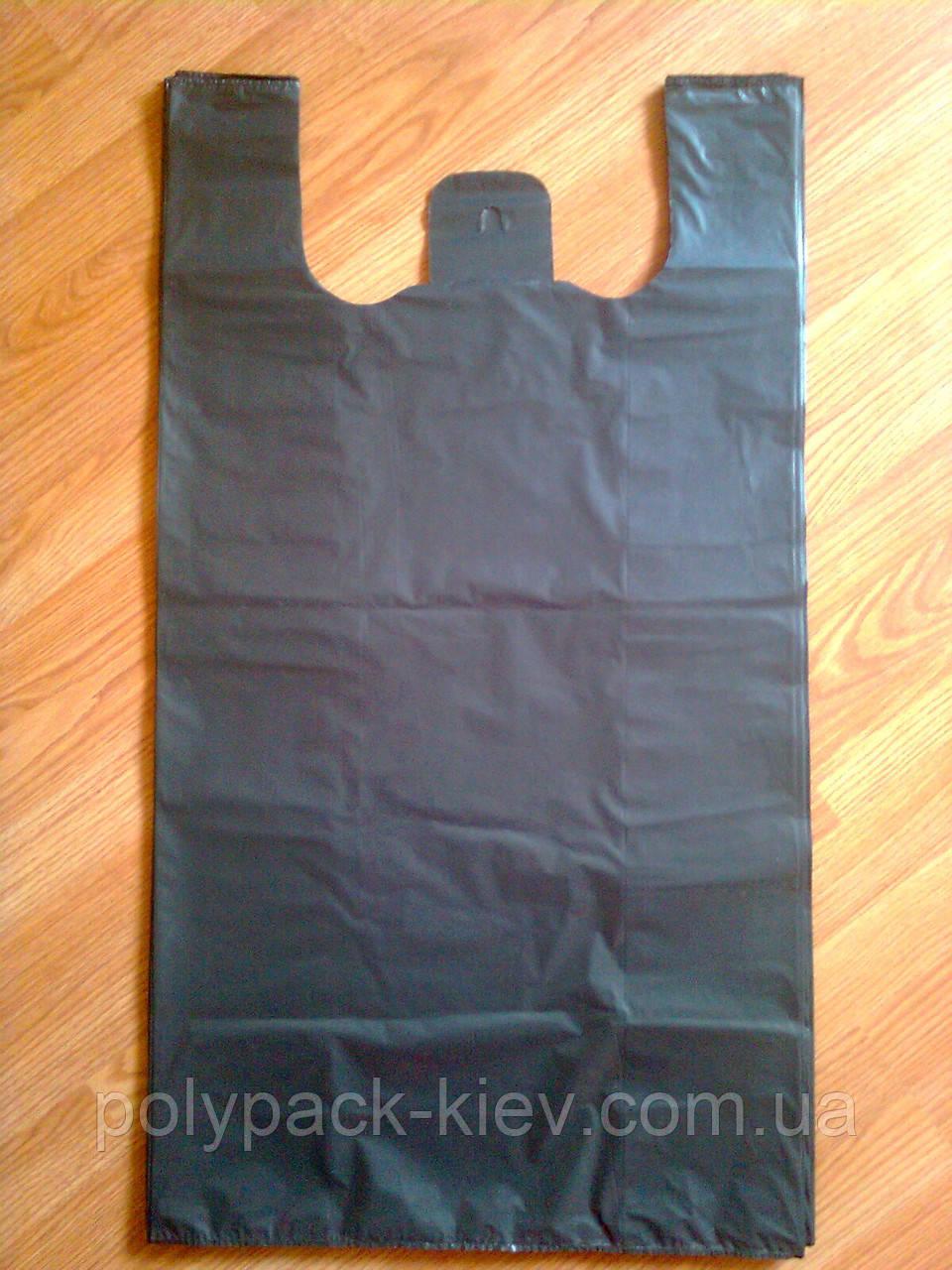 Полиэтиленовые пакеты 50-90 см/ 50 шт.уп., пакет майка-багажка тип BMW, плотные прочные от производителя, Киев