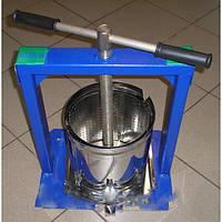 Пресс для сока ручной на 6 л ВИЛЕН из нержавейки