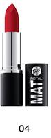 Bell Lipstick Royal Mat №04  (оригинал подлинник  Польша)