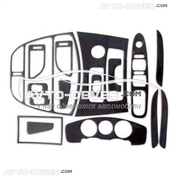 Тюнинг торпедо Чери Тигго большой комплект из 16 элементов (наклейки)