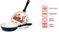 Сковорода с керамическим антипригарным покрытием Con Brio СВ2407д 24 см