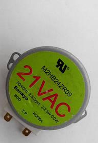 Двигатель (мотор) тарелки 21V для микроволновой печи