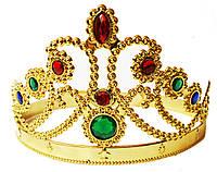 """Корона """"Диадема""""  золотая регулируемая"""