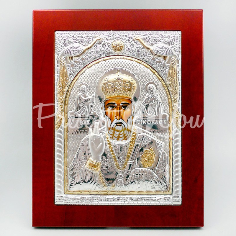 Икона «Святой Николай Чудотворец», 18х23см.
