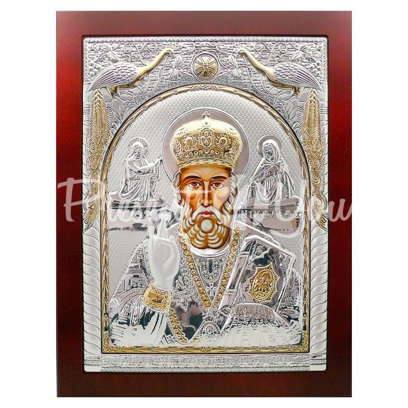 Икона «Святой Николай Чудотворец», 39х30 см.
